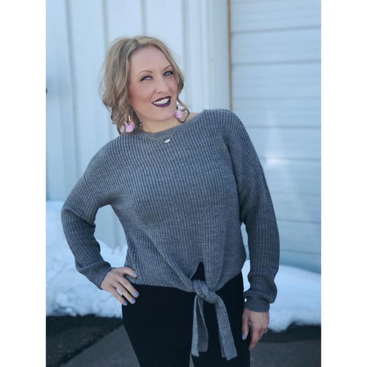 Universal Thread Tie Front Sweater Target Sugarfix by Baublebar Earrings Milani Amore Matte Metallic